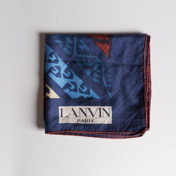 Foulard Lanvin vintage
