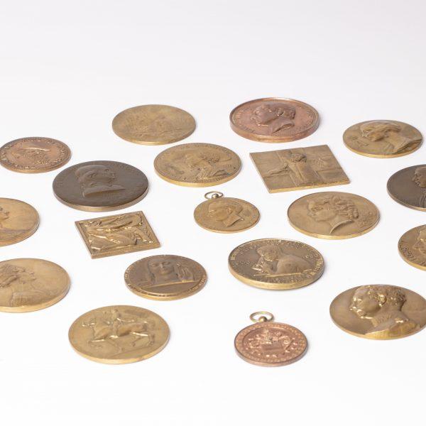 Médailles en bronze