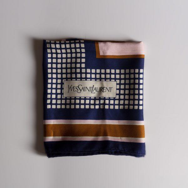 Foulard Yves Saint Laurent vintage