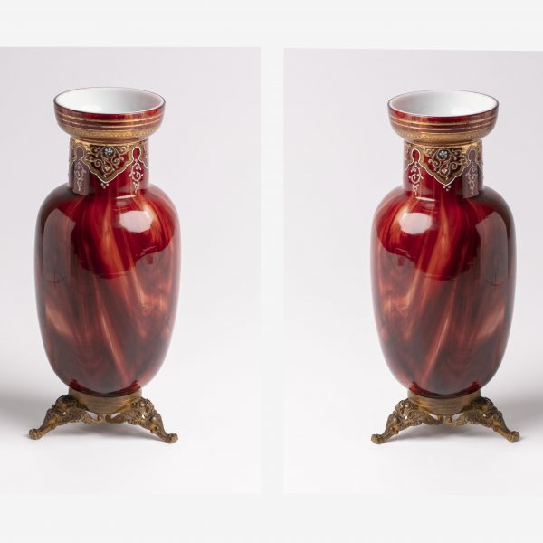 Paire de vases orientalistes