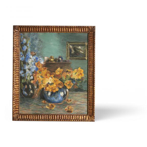 Peinture à l'huile «Vendu»